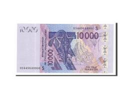 West African States, 10,000 Francs, 2003, 2003, KM:918Sa, NEUF - États D'Afrique De L'Ouest