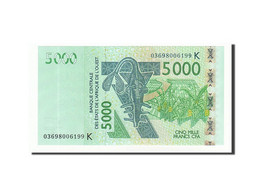 West African States, 5000 Francs, 2003, 2003, KM:717Ka, NEUF - États D'Afrique De L'Ouest