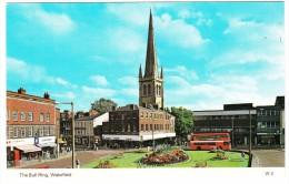 Wakefield: DOUBLE-DECKER BUS , Streetscene, Shop-fronts - The Bull Ring - Toerisme