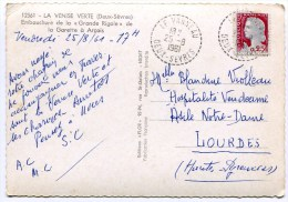 DEUX SEVRES De LE VANNEAU   Cachet B7 Sur    CP. De 1961 - 1961-....