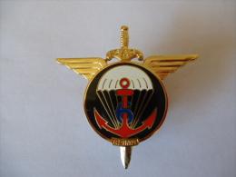 MILITARIA INSIGNE 6�me prima 6�me r�giment parachutistes /Arthus Bertand pour les �ditions atlas