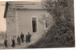 """La Caillère : Hôtel, Café Et Restaurant De La Gare """"J. LAMANDA"""" - France"""