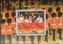 Equatorial Guinea -  Anniversario De Plata De Isabel II - 1977 - Equatoriaal Guinea