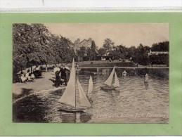 """""POSTCARD YACHT LAKE,RADNOR PARK,FOLKESTONE,KENT"""" - Folkestone"