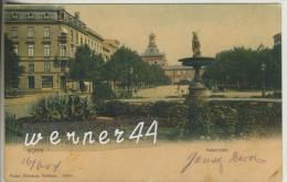 Bonn V. 1904 Kaiserplatz Mit Geschäftsstelle Der Bonner Zeitung (35857) - Bonn