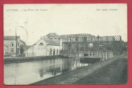 Luttre - Le Pont Du Canal - 190?  ( Voir Verso ) - Pont-à-Celles