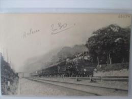 ACHERES  . TRAIN RAPIDE DU HAVRE - Acheres