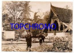 Photo De Presse Keystone 1953 Guerre D'Indochine Premiers Combats Au Laos Dans La Plaine Des Jarres - War, Military