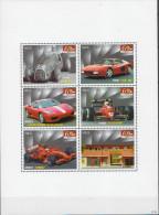 Niue MNH Cars, Ferrari Sheetlet - Autos
