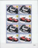 Antigua-Barbuda MNH Cars, Ferrari Sheetlet - Cars