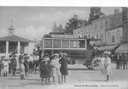 DANS LE BAZADAIS  -  DEPART DE GRIGNOLS - TRANSPORTS PUBLICS SYSTEME PURREY - France