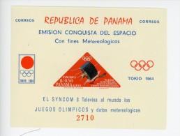 Panama 1964-JO Tokyo-Satellite NASA-MI B30***MNH-NON Dentelé - Sommer 1964: Tokio