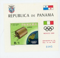 Panama1969-Satellite NASA ATS3-MI B105***MNH - Space