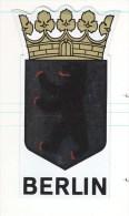 Wappen Berlin - Schwarzer Bär Auf Silbernem Grund (kommt Beim Scannen Nicht Heraus) - Souvenirs