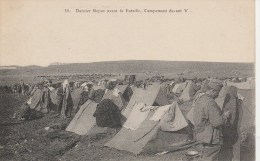 MILITARIA DERNIER REPOS AVANT LA BATAILLE CAMPEMENT DE VANT V..... - Guerre 1914-18