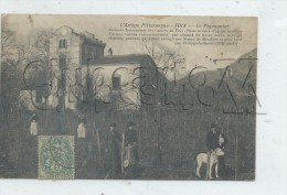 Foix (09) : Le Pigeonnier Dans Les Vignes En 1910 (animé) PF - Foix