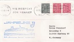Ship Cover: M/S Kronprins Harald P/m Oslo 1980  (SK01-27) - Schiffe