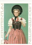 CPM LIECHTENSTEIN FURSTENTUM LIECHTENSTEINER FESTTAGSTRACHT - Liechtenstein