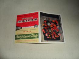 PETIT CALENDRIER PUBLICITAIRE / BAUME ALGIPAN    1958 - Calendriers