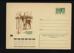 USSR 1973 Postal Cover Fauna Deer (51) - Autres