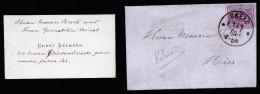 A3685) DR Kleiner Damen-Ortsbrief Von Greiz 1.1.1882 Mit Inhalt - Deutschland