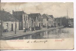 Alkmaar - Oudegracht Noordzijde - 1902 - Alkmaar