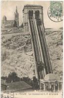 Marseille Les Ascenseurs De N.-D. De La Garde 1905. - Notre-Dame De La Garde, Lift