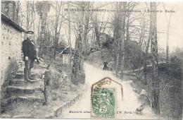 91 ESSONNE - AUVERS SAINT GEORGES La Martinière, L'escalier Des Roches (voir Descriptif) - Autres Communes