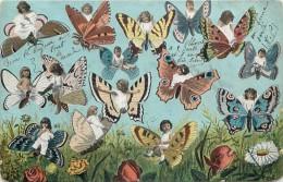 PAPILLONS ET ENFANTS MULTIPLES - Papillons