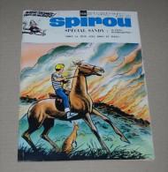 Spirou N° 1656 De 1970 Couverture Lambil Avec MR Et Le Poster Sandy Et Hoppy - Spirou Magazine