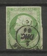 France - Napoleon III - N°12 - Obl. - 1853-1860 Napoléon III