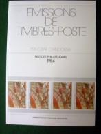 Andorre - Emissions De Timbres Poste - Principat D´Andorra - Notices Philatéliques 1984 - édité Par La Poste - Autres Livres
