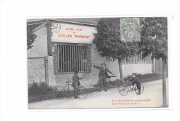 Belle CPA à Localiser, Atelier De CYCLES THIMERT, - Cartes Postales