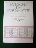 Andorre - Emissions De Timbres Poste - Principat D´Andorra - Notices Philatéliques 1986 - édité Par La Poste - Autres Livres