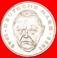 ★MARK 1948-1988: GERMANY ★ 2 MARKS 1989F! LOW START★ NO RESERVE! Erhard (1897-1977) - [10] Commémoratives