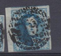 Belgique N°4 FIL Encadré BDF +2 Voisins D 19 GIVRY Bord Inférieur Effleuré - TRES Rare Et Super - 1849-1850 Medaillen (3/5)