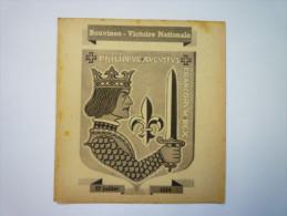 Document De PROPAGANDE  Du Secrétariat à La Guerre De  VICHY  :  BOUVINES  VICTOIRE  NATIONALE   XXX - Vieux Papiers