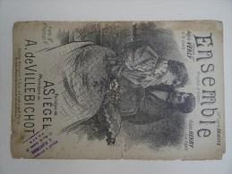 Partition Ancienne Pf Ensemble Adèle Verly Irène Henry Illustrateur Royet A Siegel A De Villebichot - Scores & Partitions