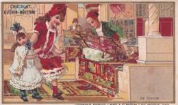 Chromo 1900 Chocolat Guérin Boutron : En Tunisie - Guérin-Boutron