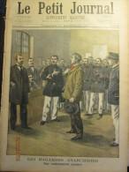 1899 Le Petit Journal  461 Les Bagarres Anarchistes Le Nouveau Radeau De La Méduse Naufrage Drot Canibalisme - Livres, BD, Revues