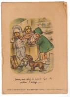 Publicité - Vins & Spiritueux - Vve HEYRIES - CHATEAU - ARNOUX - Bouret, Germaine