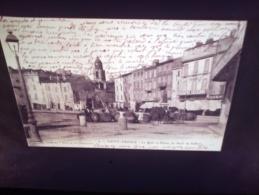 DIAPOSITIVE PHOTO DE CARTE POSTALE ANCIENNE - SAINT TROPEZ LE QUAI (LOTAB30) - Diapositives