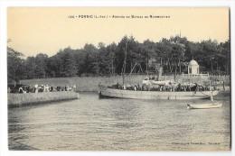 Cpa: 44 PORNIC (ar. Saint Nazaire) Arrivée Du Bateau De Noirmoutier N° 1210 - Pornic