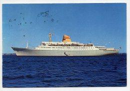 Ms SAGAFJORD - Norwegian America Line ( 2 Scans ) - Dampfer