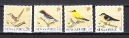 Singapore 1991,4V,set,birds,vogels,vögel,oiseaux,pajaros,uccelli,aves,MNH/Postfris(A2299) - Vogels