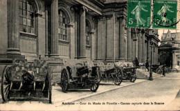 AMIENS - Cour Du Musée De Picardie - Canons Capturés Dans La Somme - Amiens
