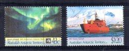 Australian Antarctic Territory - 1991 - 30th Anniversaries - Used - Oblitérés