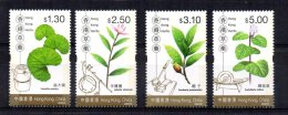 Hong Kong - 2001 - Medicinal Herbs - MNH - Neufs