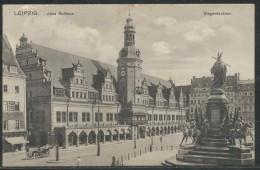 Deutschland -   Altes Rathaus   Siegesdenkmal - Leipzig