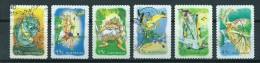 2002 Australia Complete Set Rainforest,self-adhesive Used/gebruikt/oblitere - 2000-09 Elizabeth II